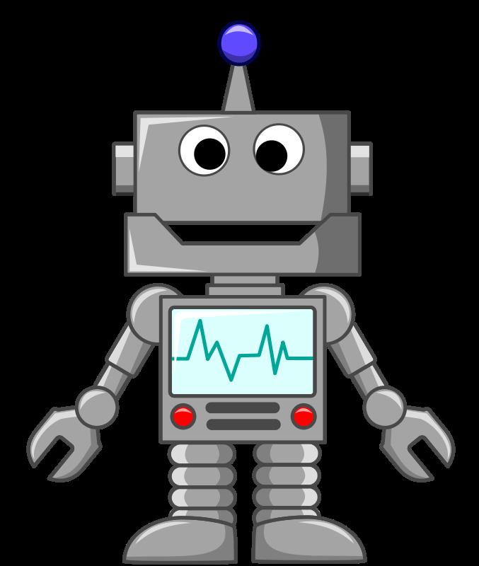 Robots clipart - Robot Clip Art