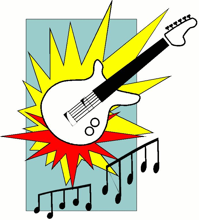 rock and roll drawings | Arthuru0026#39;s Music clip art page 4