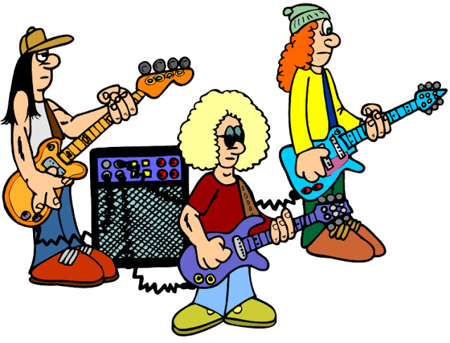 Rock Band Clip Art-Rock Band Clip Art-17