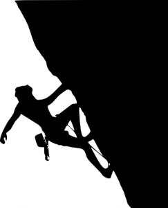 rock climbing clip art