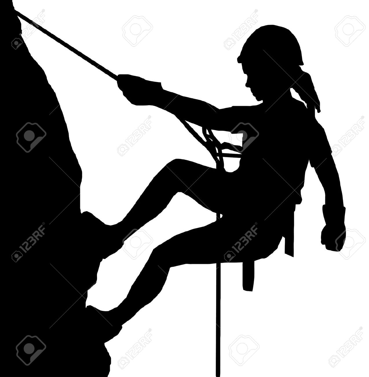 Rock climbing clipart free - ClipartFest