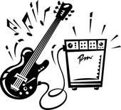 Rock Roll Clip Art And Illustration 2442 Rock Roll Clipart Vector