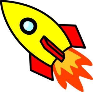Rocket Clipart Black And White-rocket clipart black and white-3