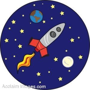 Rockets astronomy and clip art on
