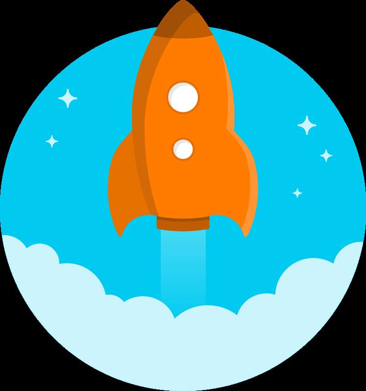 Rocketship Clip Art-Rocketship Clip Art-5