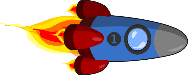 Rocketship Clip art - Technol - Rocket Ship Clipart