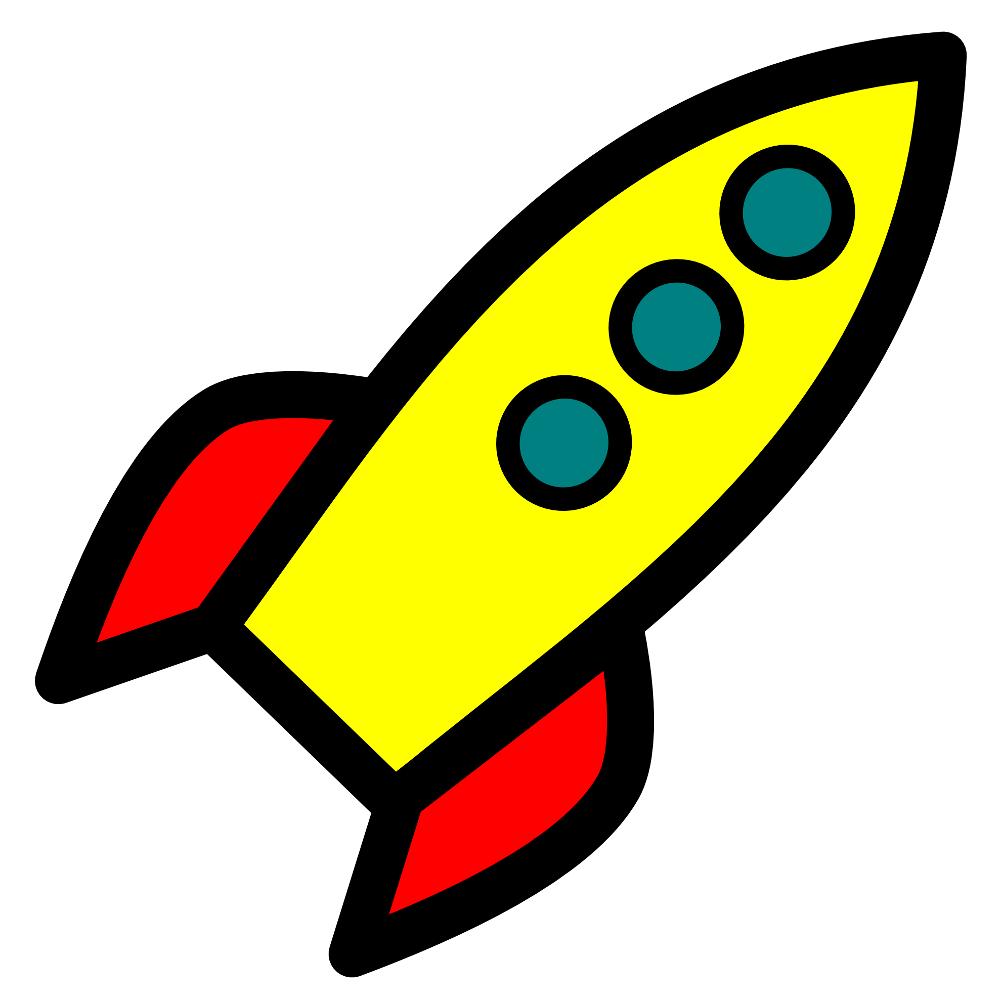 Rocketship pictures of a rock - Rocket Ship Clipart