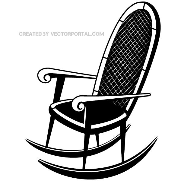 Rocking Chair Clip Art