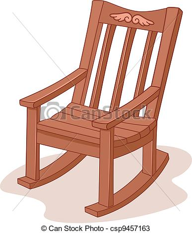 ... Rocking Chair - Illustration of a Rocking Chair