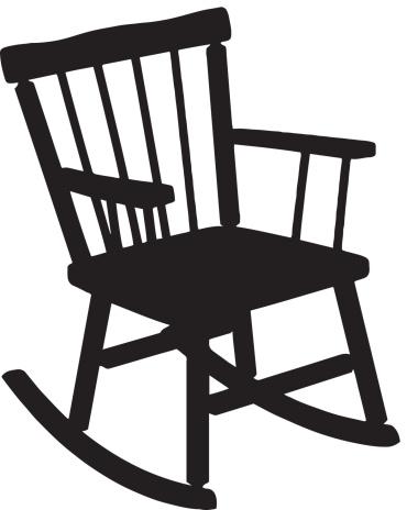 Rocking Chair Silhouette .-Rocking Chair Silhouette .-12