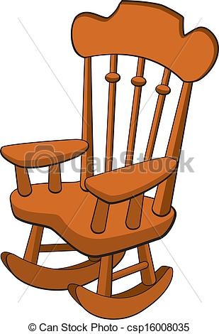 ... Rocking Chair - Vector illustration of a rocking chair.