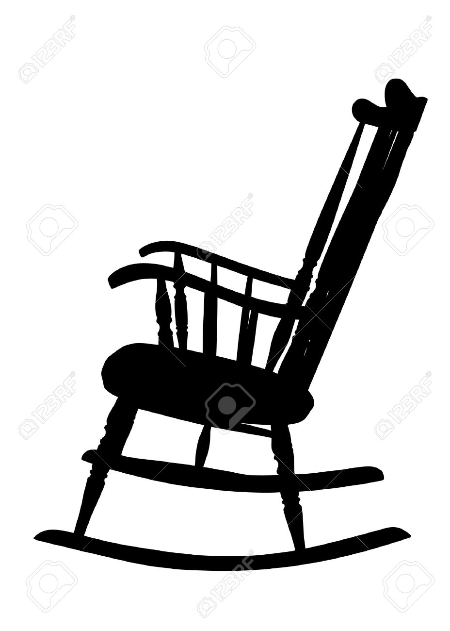 rocking chair: Vintage Rocking .