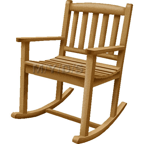 Rocking Chairs, Rockers clipart picture / Large