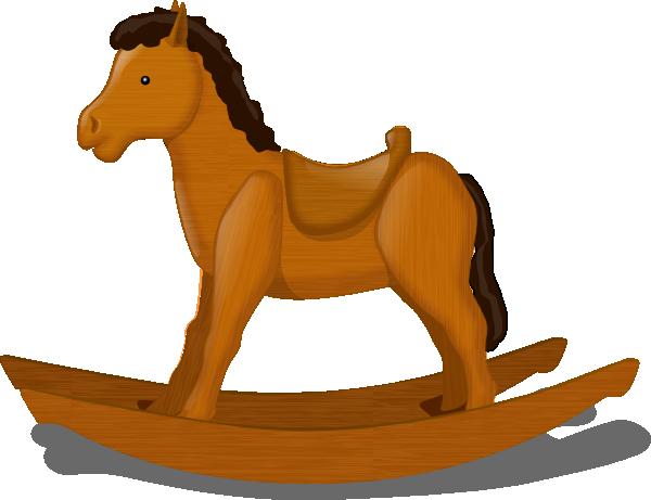 Rocking Horse Clip Art At Clker Com Vector Clip Art Online Royalty