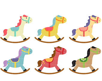 Rocking Horse Clipart Free .-Rocking Horse Clipart Free .-9