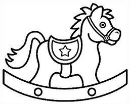 Rocking Horse - Rocking Horse Clip Art
