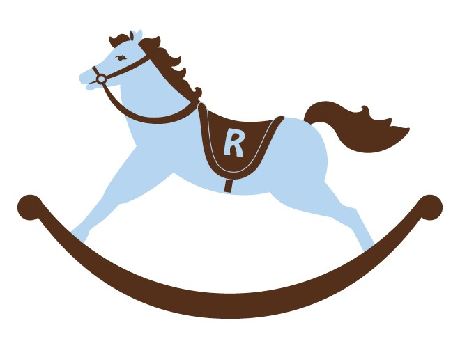 Rocking Horse Wall Decal For  - Rocking Horse Clipart