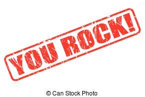 Rockstar Girl Clipartby Kakigori21/3,010-Rockstar Girl Clipartby Kakigori21/3,010; YOU ROCK red stamp text on white-10