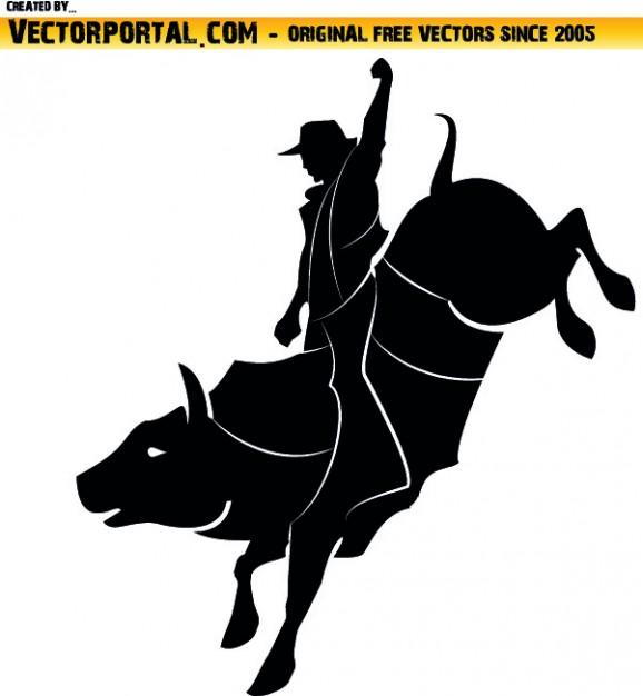 Rodeo clipart Free Vector-Rodeo clipart Free Vector-12