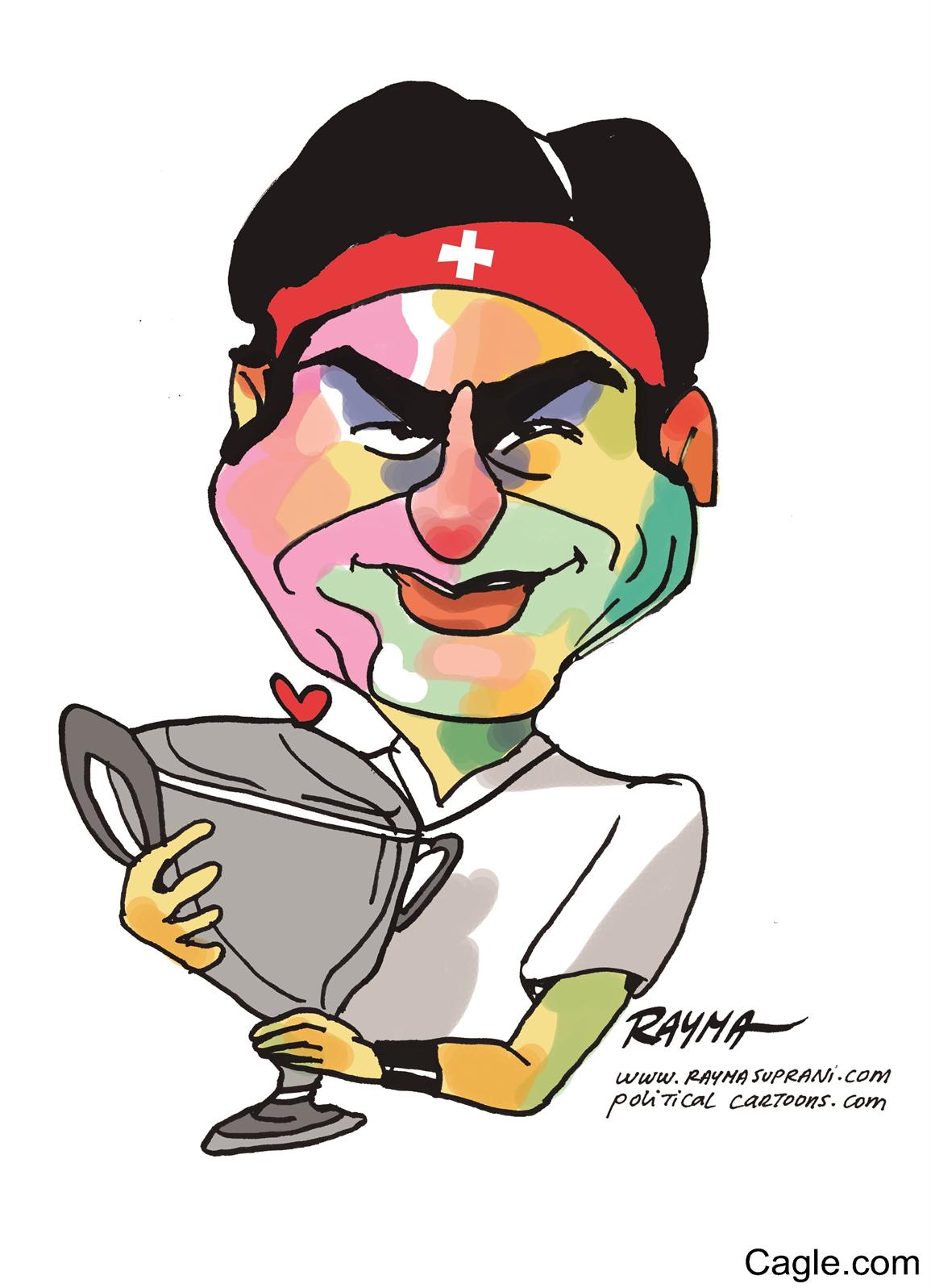 Roger Federer Clipart