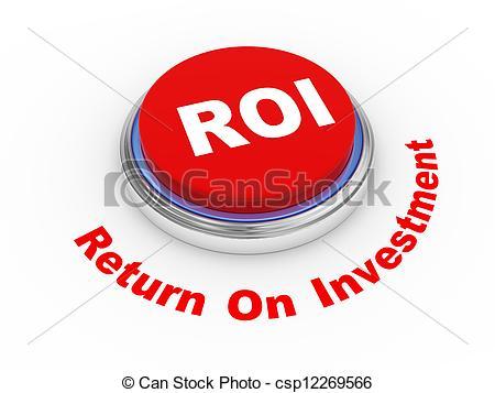 roi button - csp12269566