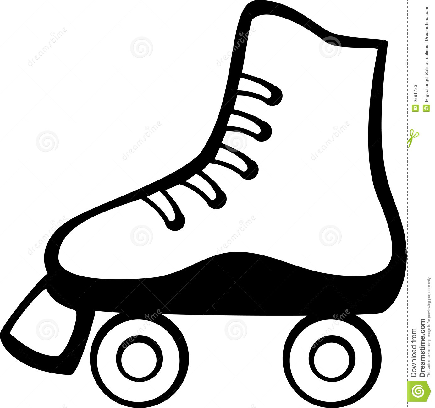 Roller 20clipart Clipart Pand - Roller Skating Clipart
