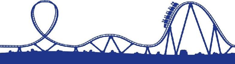 Roller coaster clipart 3