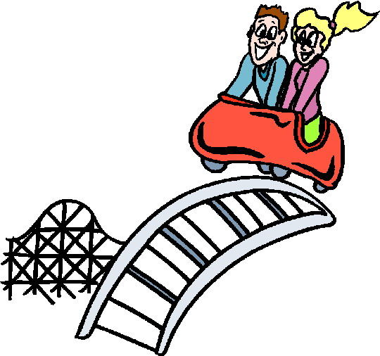 Roller coaster clipart free clipart images 3