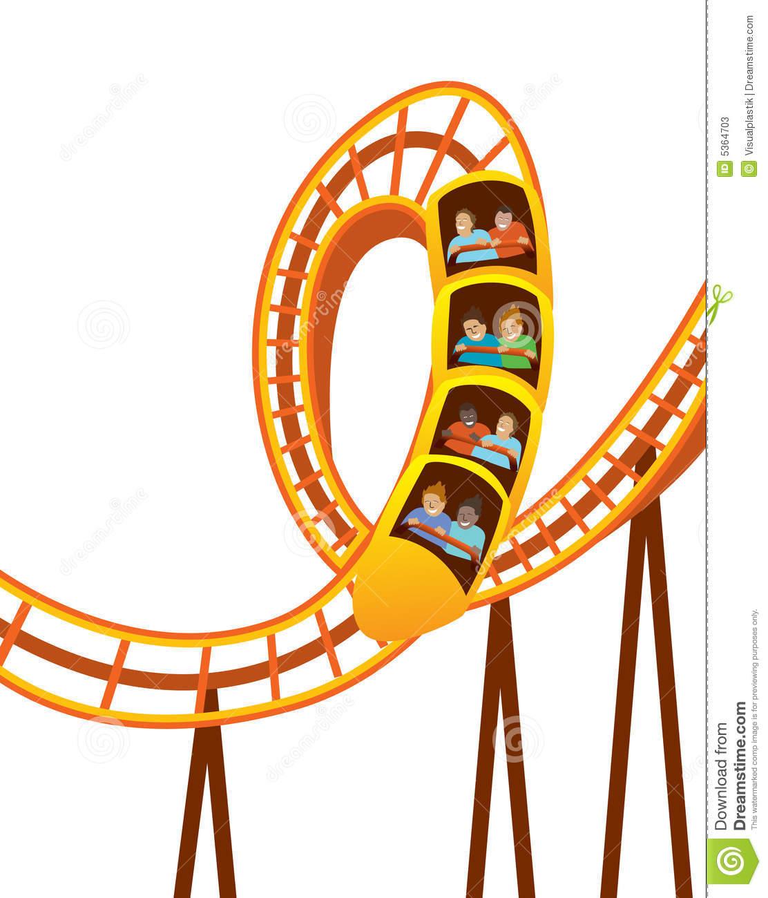 Roller Coaster Clipart Roller .