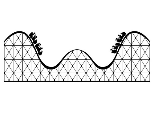 Roller coaster georgiajanet clip art