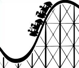 Roller Coaster - Roller Coaster Clipart