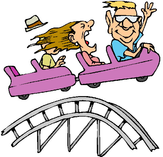Roller coaster rollercoaster clip art