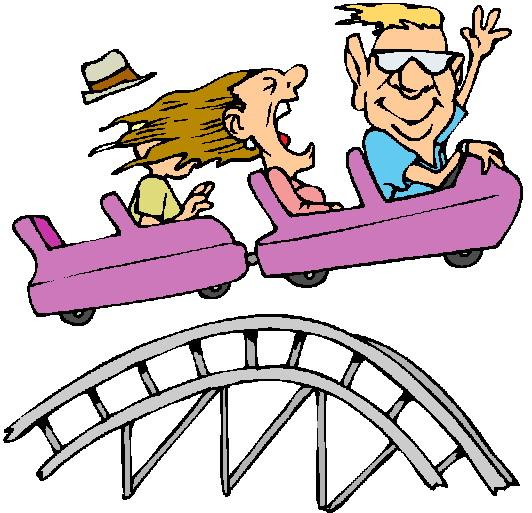 Roller Coaster Rollercoaster Clip Art-Roller coaster rollercoaster clip art-11