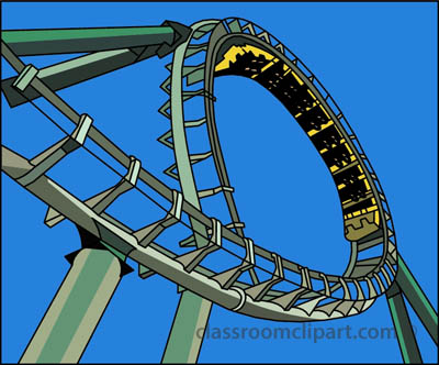 Roller coaster search results - Rollercoaster Clip Art