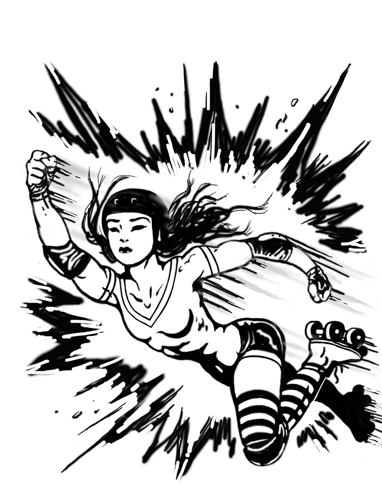 Roller Derby Clip Art Free ... Arts in the Family: Alamo City .