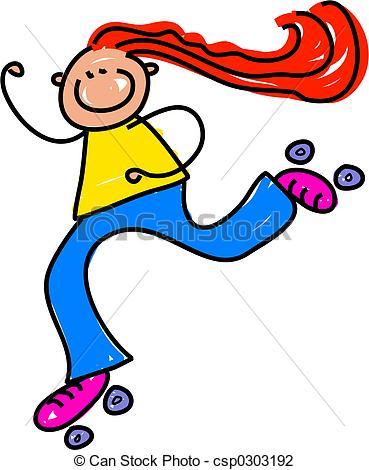 Roller Skate Kid - Little .-roller skate kid - little .-10