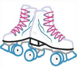roller skates - Roller Skate Clipart