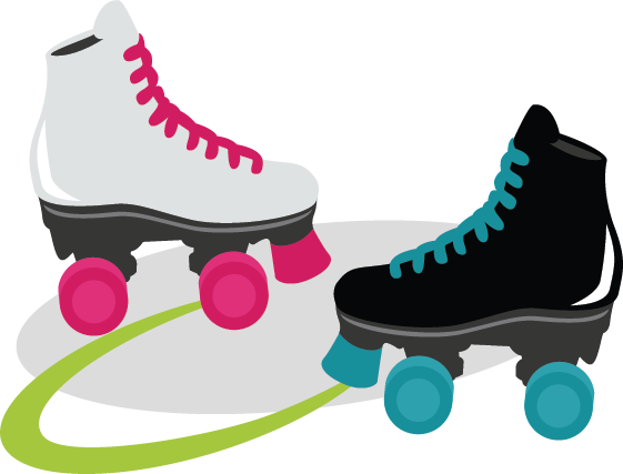 Roller Skates Svg Files For Scrapbooking Cardmaking Roller Skate