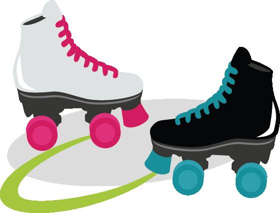 Roller Skates Svg Files For S - Roller Skating Clipart