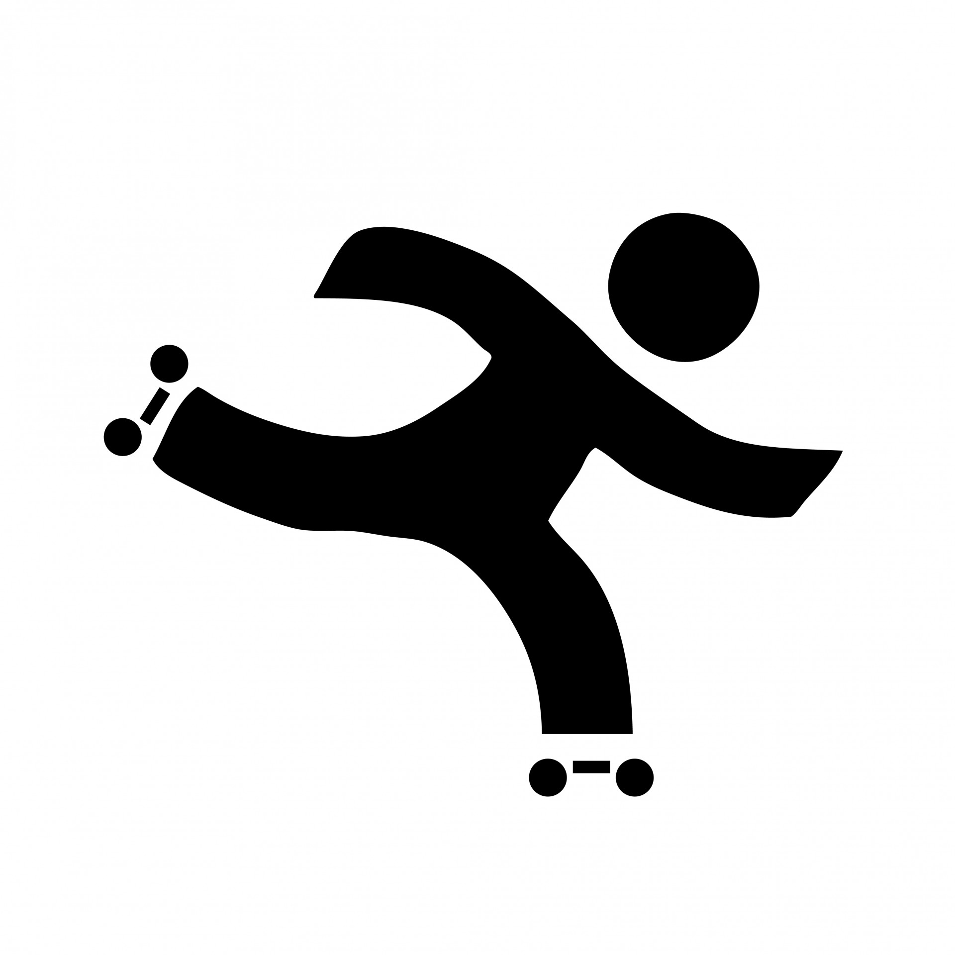 Roller Skating Clipart - Roller Skating Clipart