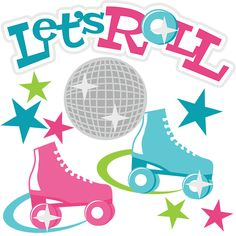 Roller Skating Party Clipart # .-Roller Skating Party Clipart # .-3