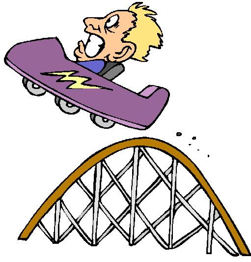 Rollercoaster clip art - Roller Coaster Clipart