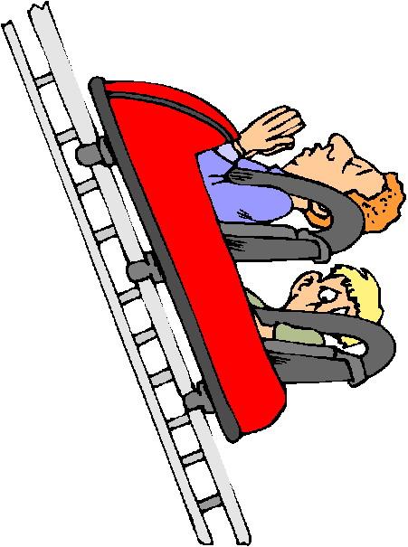 Rollercoaster Clip Art-Rollercoaster clip art-17