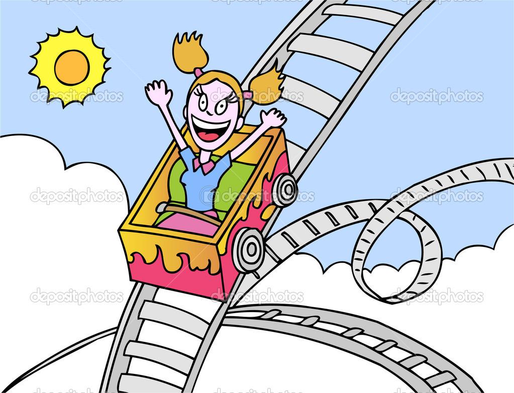 Rollercoaster Ride Stock .-Rollercoaster Ride Stock .-16
