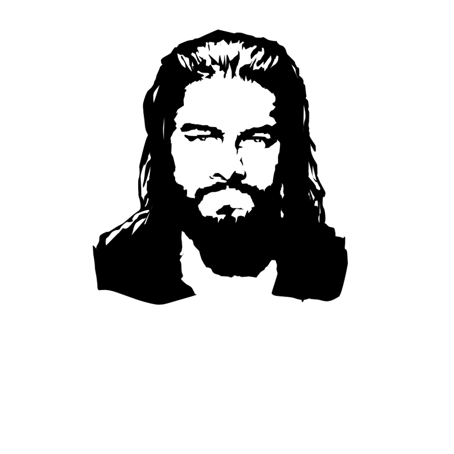 Roman Reigns - vector by NonHoVoglia ClipartLook.com