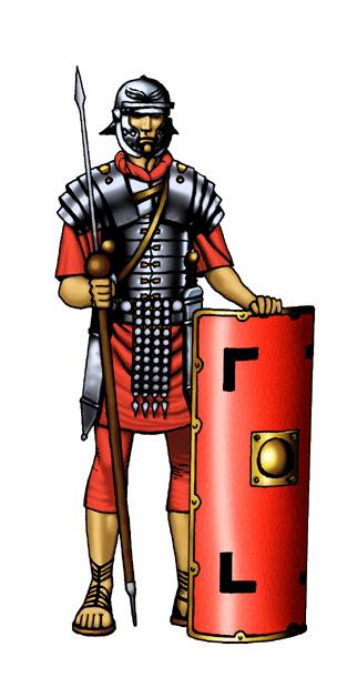 Roman Soldier Clip Art Clipart Best