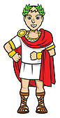 Rome (ancient Roman Forum); emperor romans