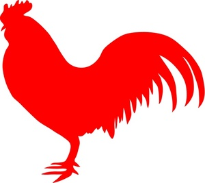 Rooster Clip Art-Rooster Clip Art-11