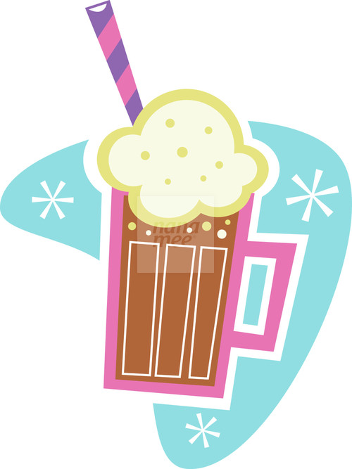 Root Beer Float Clipart. of coke float clipart