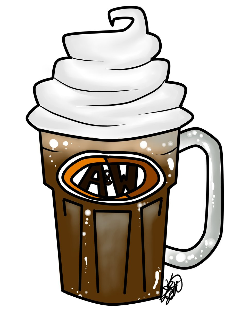 Root Beer Float Clipart. Root